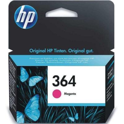 Cartucho de Tinta Original HP 364 Magenta