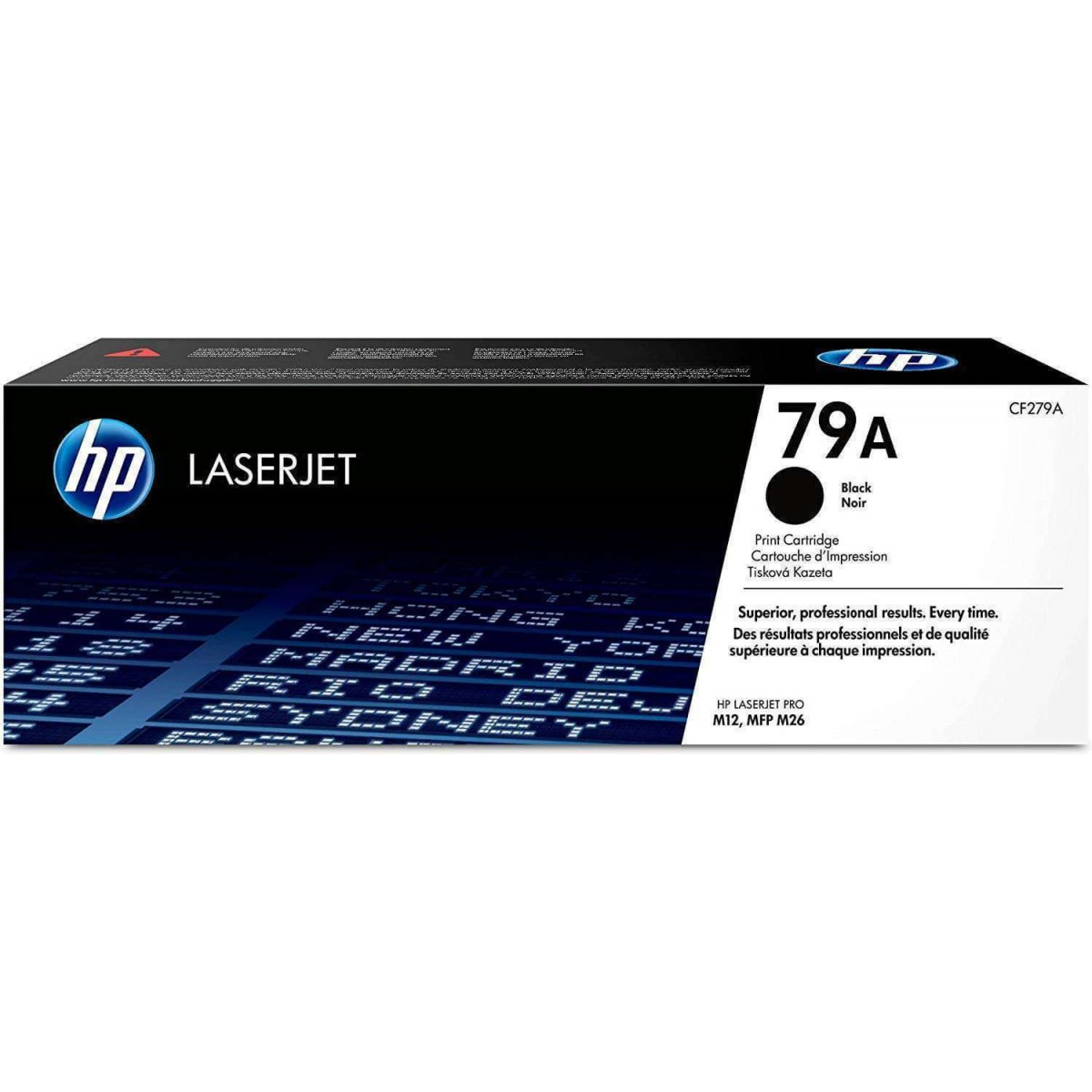 Cartucho de Tóner Original HP LaserJet 79A Negro