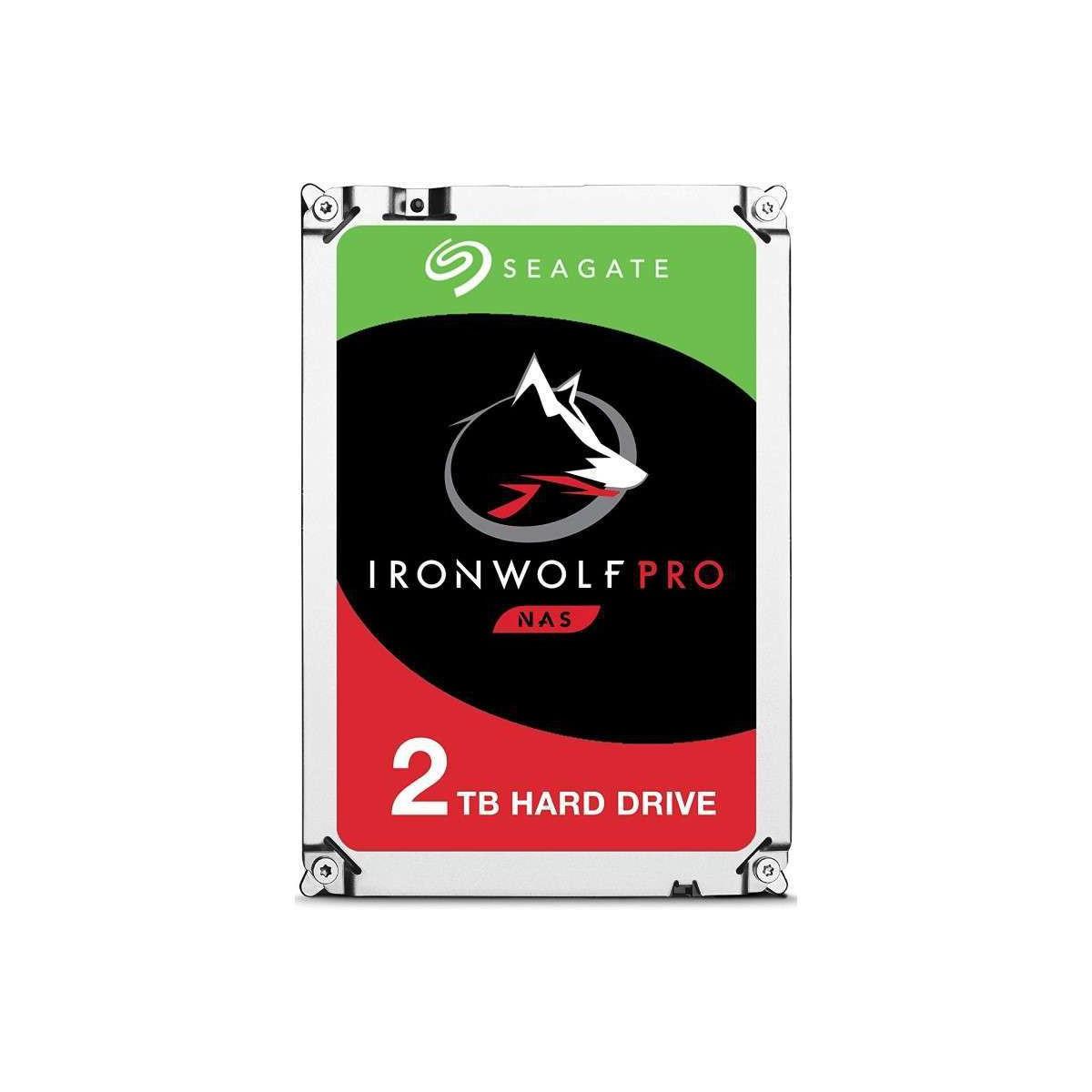 """Disco Duro Interno 3.5"""" Seagate IronWolf Pro NAS 2TB"""