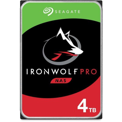 "Disco Duro Interno 3.5"" Seagate IronWolf Pro NAS 4TB"