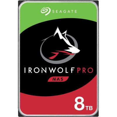 "Disco Duro Interno 3.5"" Seagate IronWolf Pro NAS 8TB"