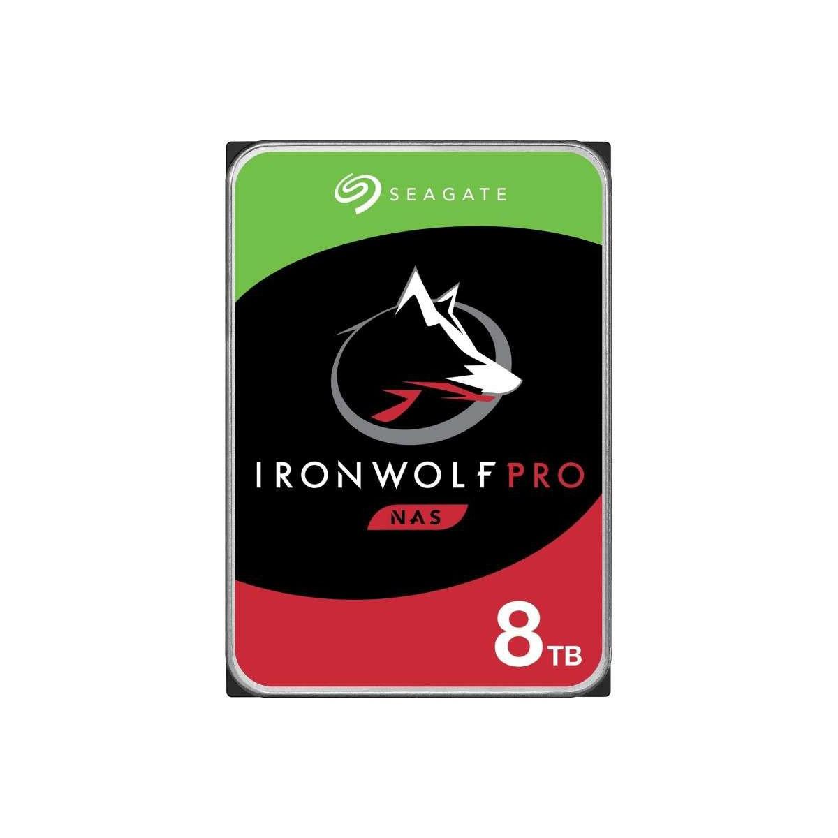 """Disco Duro Interno 3.5"""" Seagate IronWolf Pro NAS 8TB"""