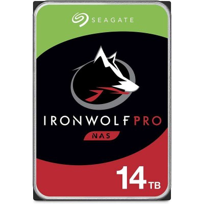 "Disco Duro Interno 3.5"" Seagate IronWolf Pro NAS 14TB"