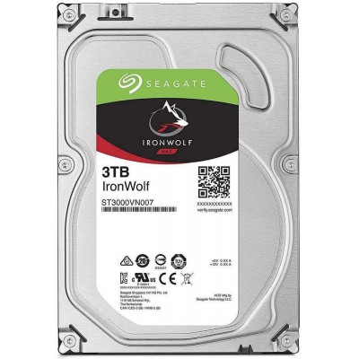 "Disco Duro Interno 3.5"" Seagate IronWolf NAS 3TB"