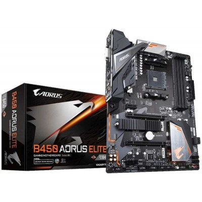 Placa Base AMD Gigabyte Aorus Elite GA-B450