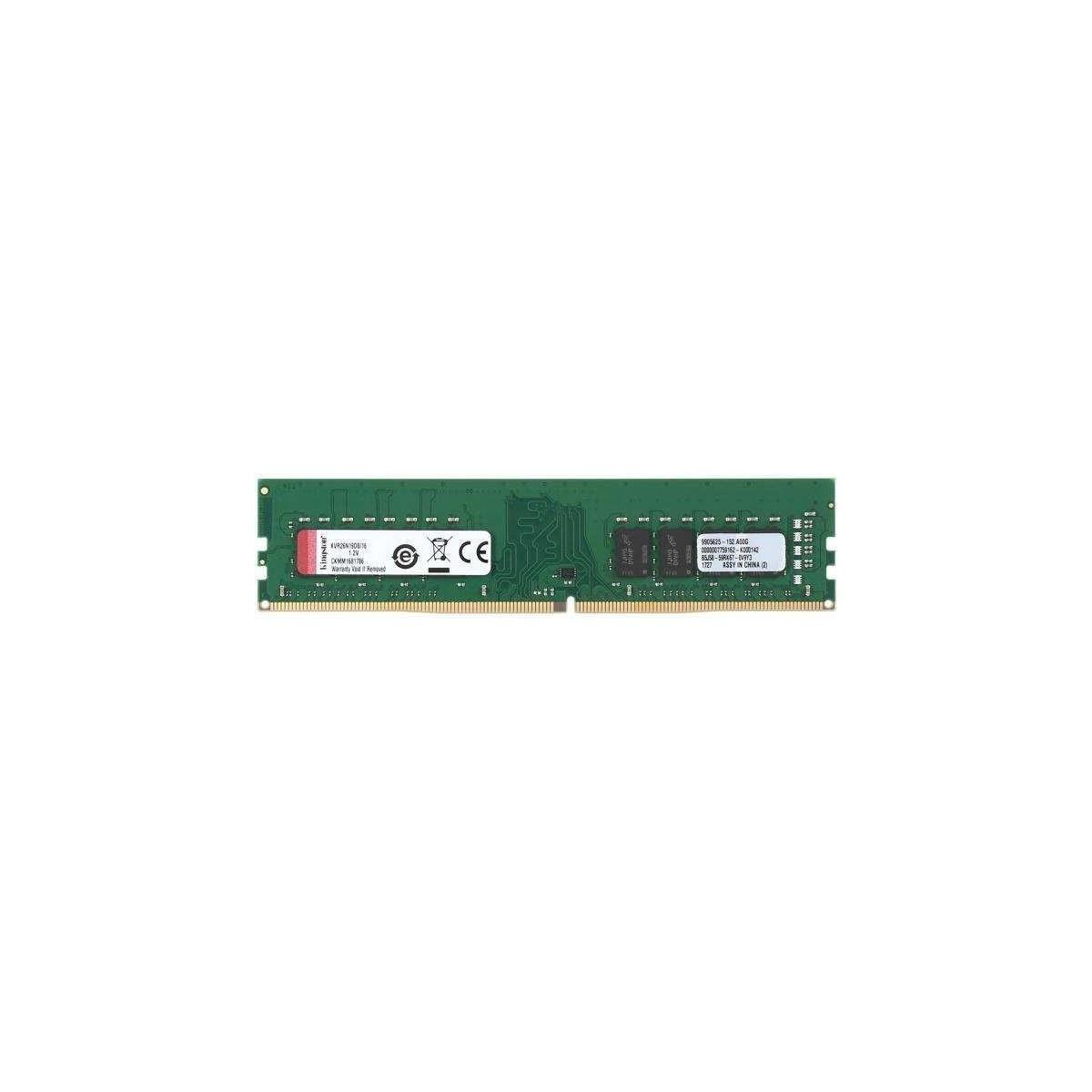 Memoria RAM Kingston ValueRAM DDR4 16GB 2666 MHz